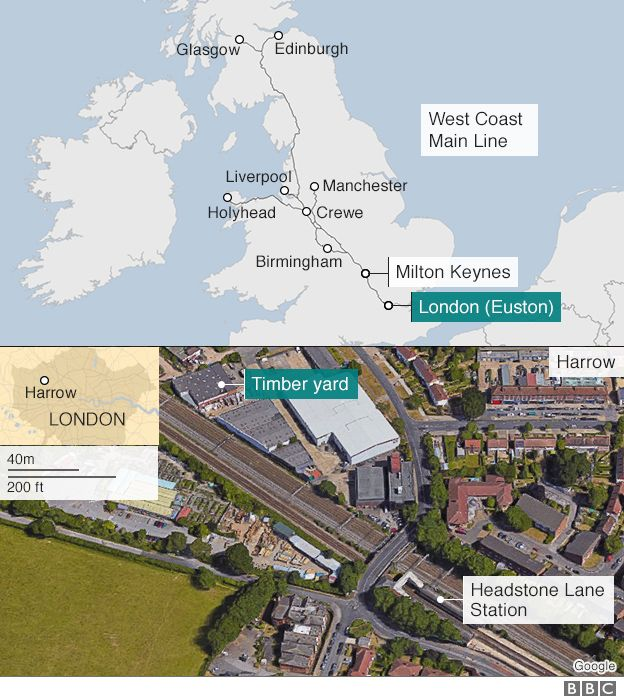 West Coast Main Line Long Delays After Harrow Fire BBC News - Fire regime map us west coast