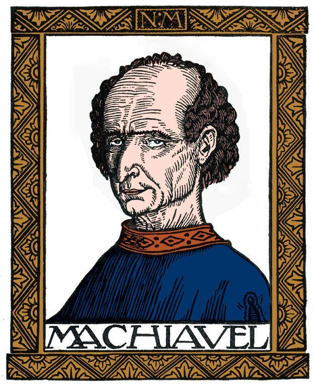 Maquiavelo pintado por Niccolo di Bernardo dei Machiavelli (1469-1527)