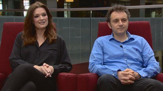 Fiona Drouet and Germain Drouet