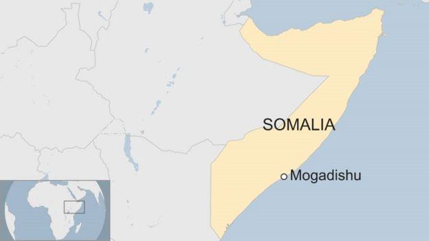 Ramani ya taifa la Somalia
