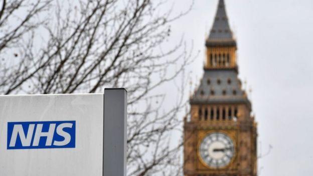 NHS y Big Ben