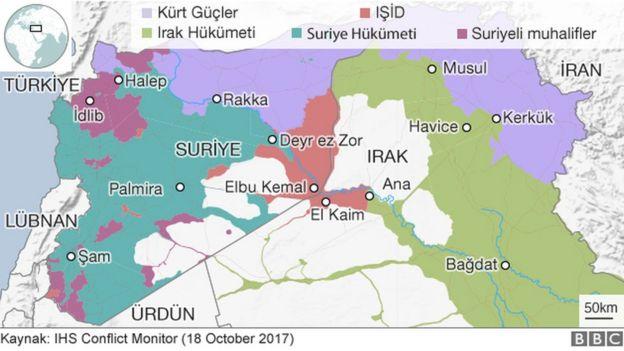 Suriye ve Irak'ta IŞİD