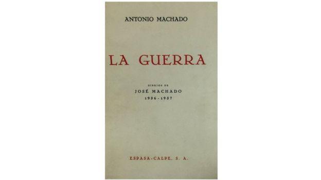 Portada de el libro La Guerra de Antonio Machado