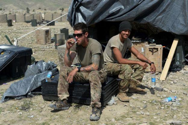 soldado en Afganistán