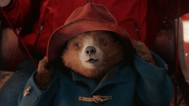 a still from Marks and Spencer Christmas advert called Paddington