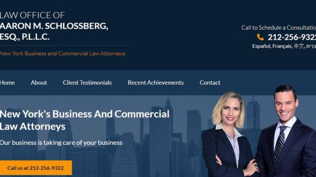 Página web de Schlossberg.