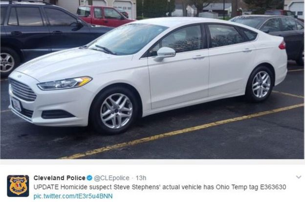 Police believe the suspect's car may have been newly purchased