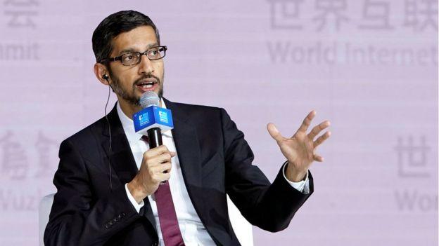 谷歌首席执行官皮查伊