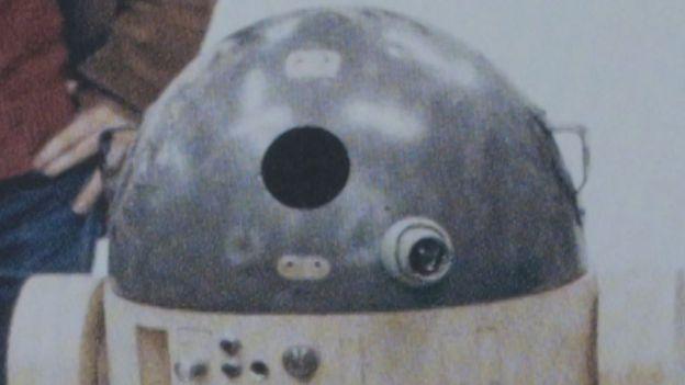 Imagen de un R2-D2 original.