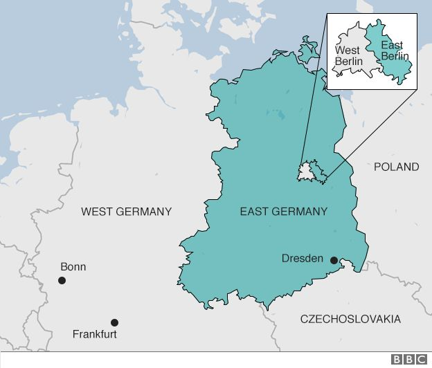 East German Border Claimed Lives Says Berlin Study BBC News - Berlin map east west