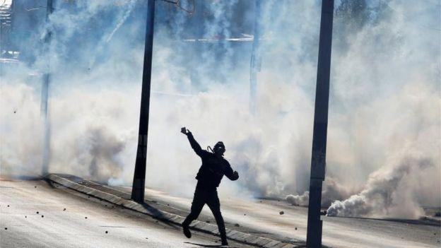 Вспышки насилия были отмечены в Вифлееме
