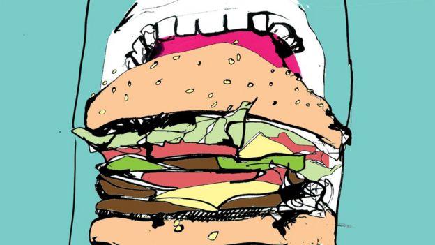 Eating illustration