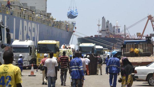 Conakry port