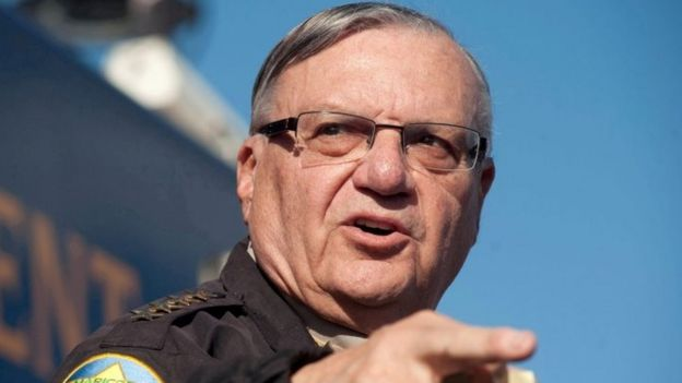 Maricopa County Sheriff Joe Arpaio in Anthem, Arizona (09 January 2013)