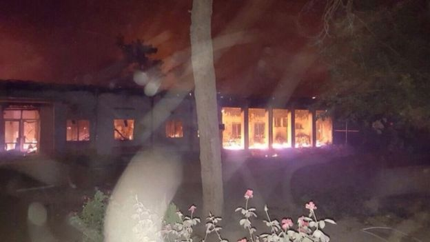 MSF hospital in Kunduz, 3 Oct 15