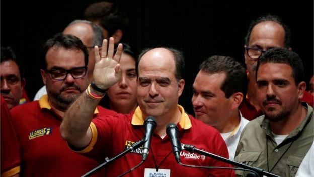 Julio Borges, Venezuela'daki Ulusal Meclis Başkanı, 16 Temmuz 2017