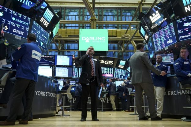 Interior de Wall Street