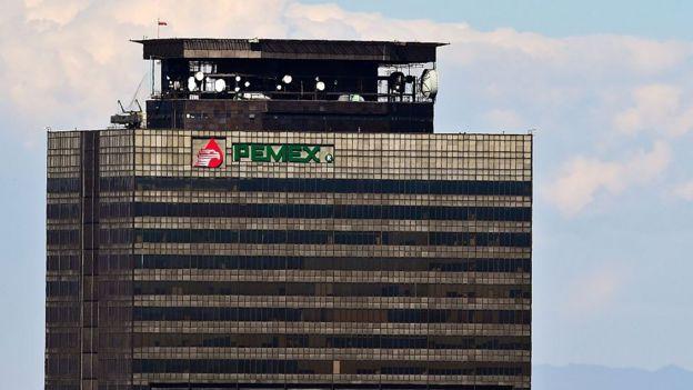 Sede de Pemex en Ciudad de México.