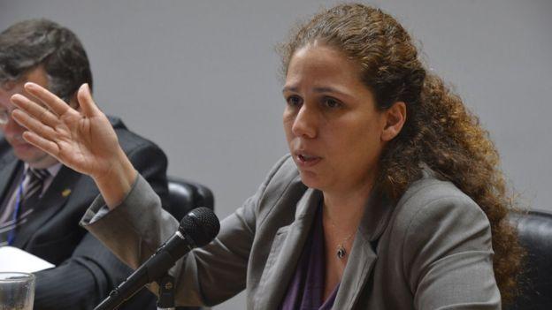 A ex-secretária do Ministério do Planejamento Esther Dweck foi dispensada como testemunha