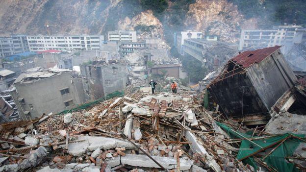 Çin'in Siçuan bölgesinde 12 Mayıs 2008'de meydana gelen depremde yaklaşık 70 bin kişi hayatını kaybetmişti.