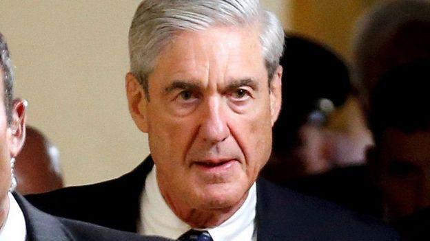 Lataliyaha gaarka Robert Mueller ayaa hoggaaminaya baaritaanka lagu hayo xiriirka ka dhaxeeyay Ruushka iyo ololihii doorashada Trump