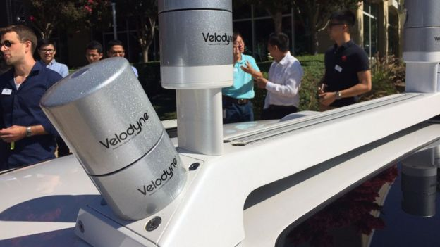 Ford has invested in Velodyne, a company that works on LiDAR technology