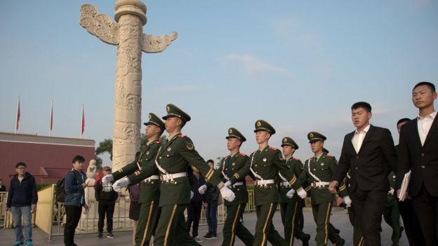 北京天安門華表