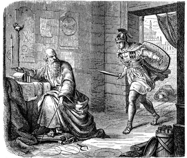 """""""La última hora de Arquímedes"""""""