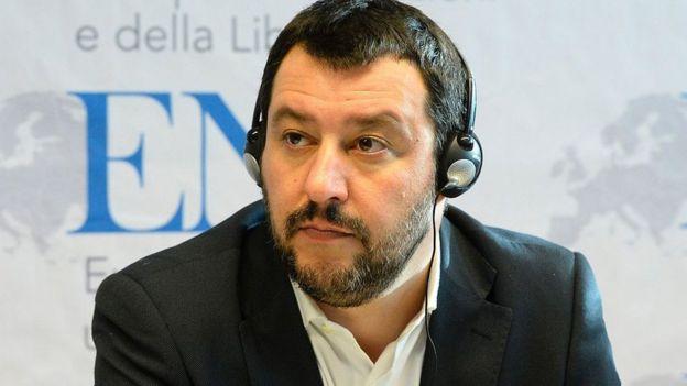 Roberto Salvini es el actual líder de la Liga Norte.