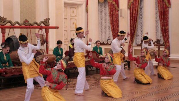 Budaya Indonesia di Rusia.