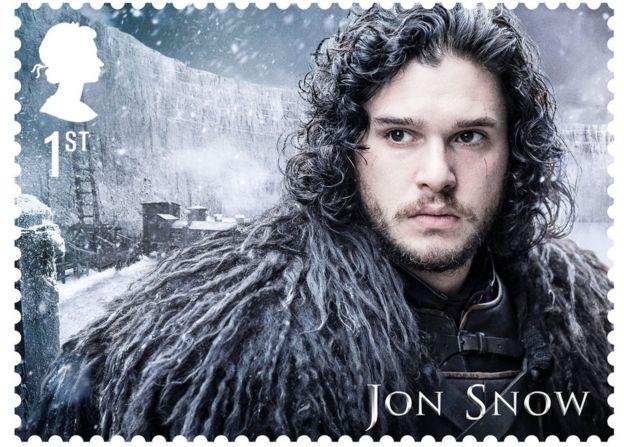 Jon Snow as played by Kit Harrington