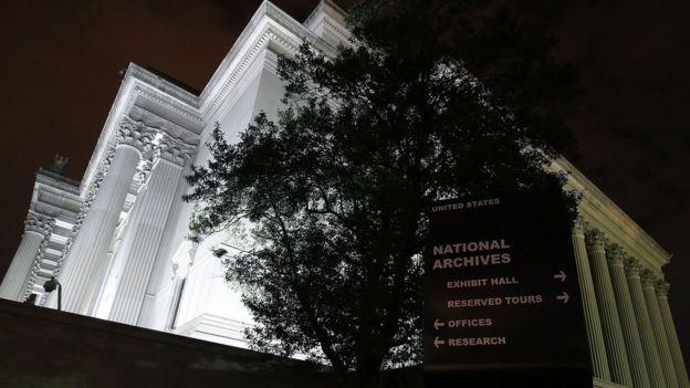 Oficina de Archivos Nacionales y Administración de Documentos de EE.UU.