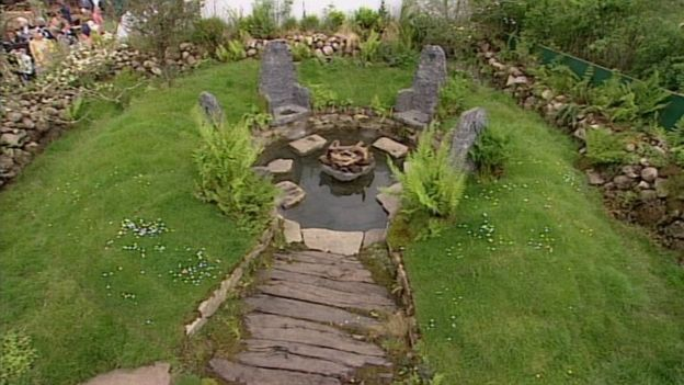 The garden Mary Reynolds designed in 2002 won a gold medal at the Chelsea Flower Show