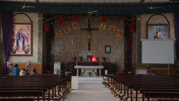 Iglesia oficial en Pekín
