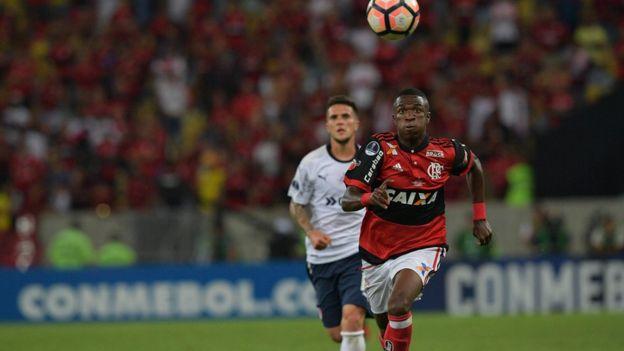Flamengo na final da Copa Sul-Americana de 2017