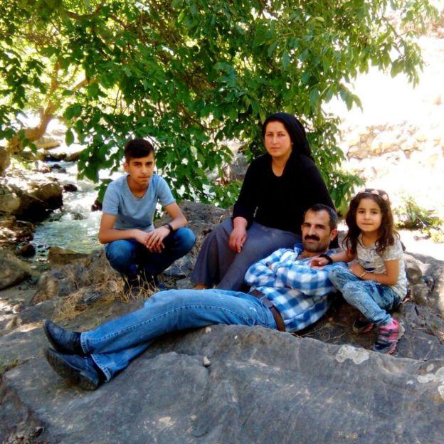 Saldırıda yaşamını yitiren Mehmet Temel, ailesiyle birlikte