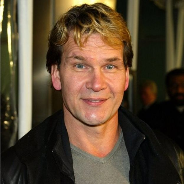 Patrick Swayze. Photo: February 2003