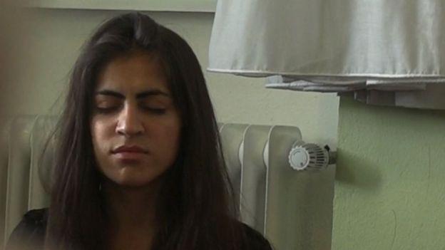 Ekhlas berusia 14 tahun ketika ditawan oleh ISIS pada Agustus 2014 di Irak utara.