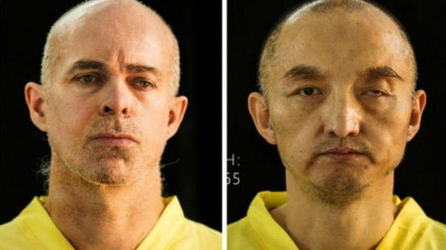 中国公民樊京辉(右)和挪威男子奥勒·格里姆斯高-奥夫斯塔(左)被IS杀害。