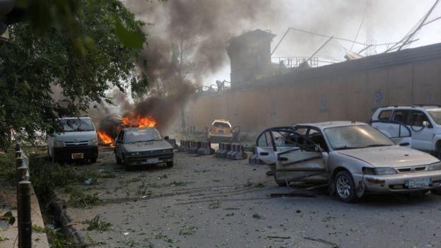 نفجار مرگبار در کابل