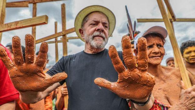 Lula em ato político em Mariana (MG)