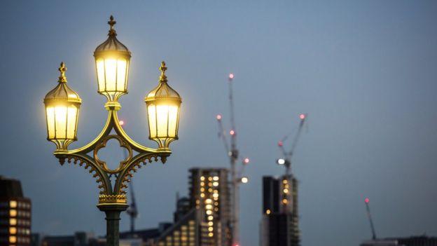 Luces callejeras