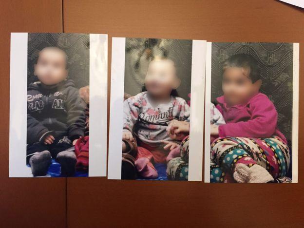 Фотографии разыскиваемых детей