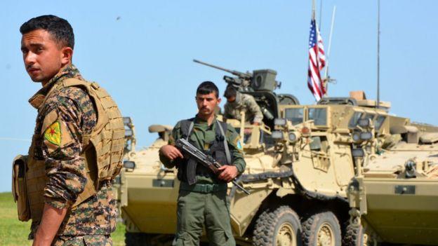 YPG'nin ABD ile ilgili görsel sonucu
