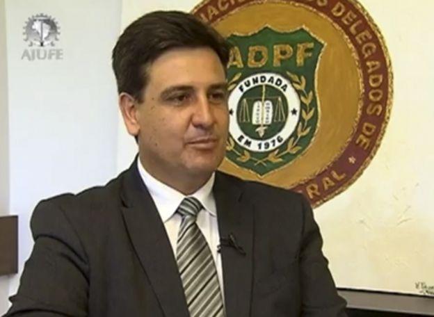 O novo diretor-geral da PF, Fernando Segóvia