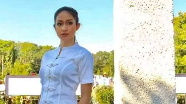 Shwe Eain Si en una foto publicada en su cuenta de Facebook (Foto: Shwe Eain Si)