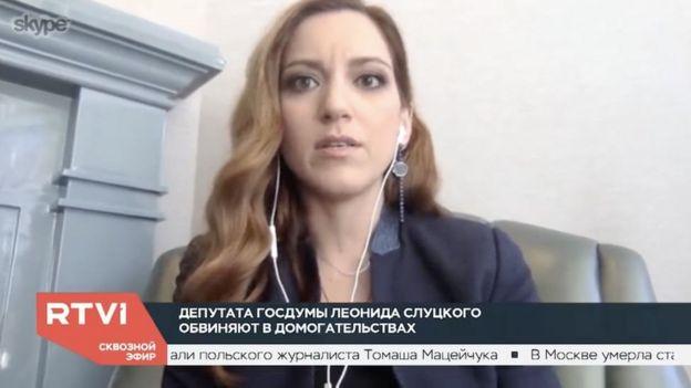 نائبة رئيس تحرير قناة آر تي في آي صحفية أخرى اتهمت النائب الروسي بالتحرش