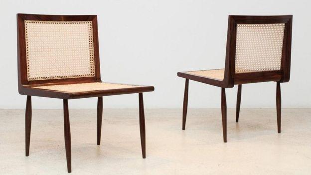 Cadeiras feitas por Joaquim Tenreiro