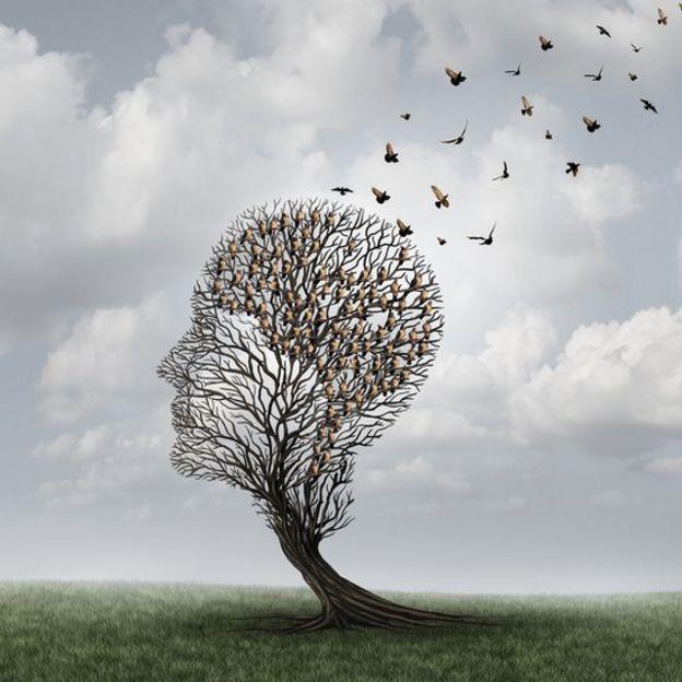 Ilustración de la pérdida de memoria