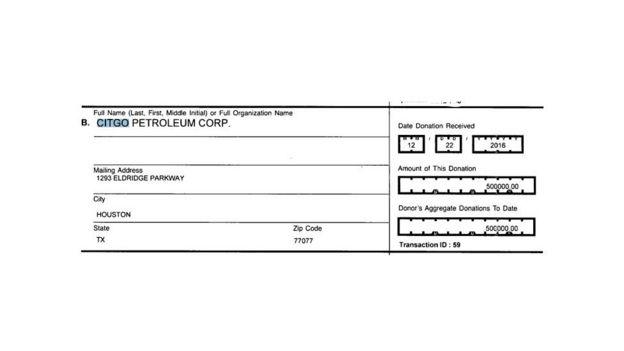 фрагмент отчета ЦИК США